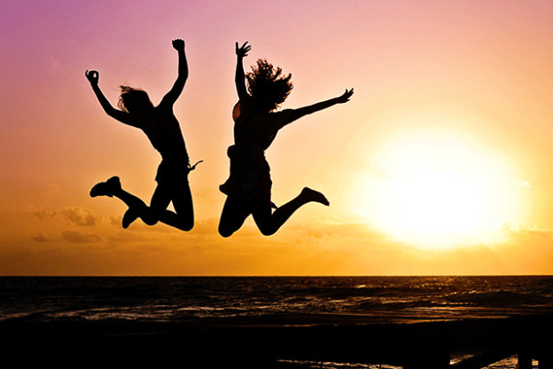 resistance to letting yourself be happy